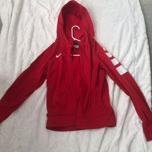 Nike red zip up!